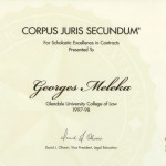 georges meleka attorney certificate